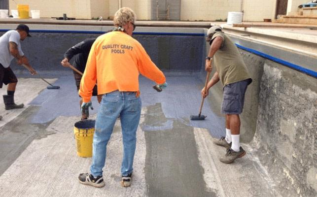 Membrane C Pool Waterproofing